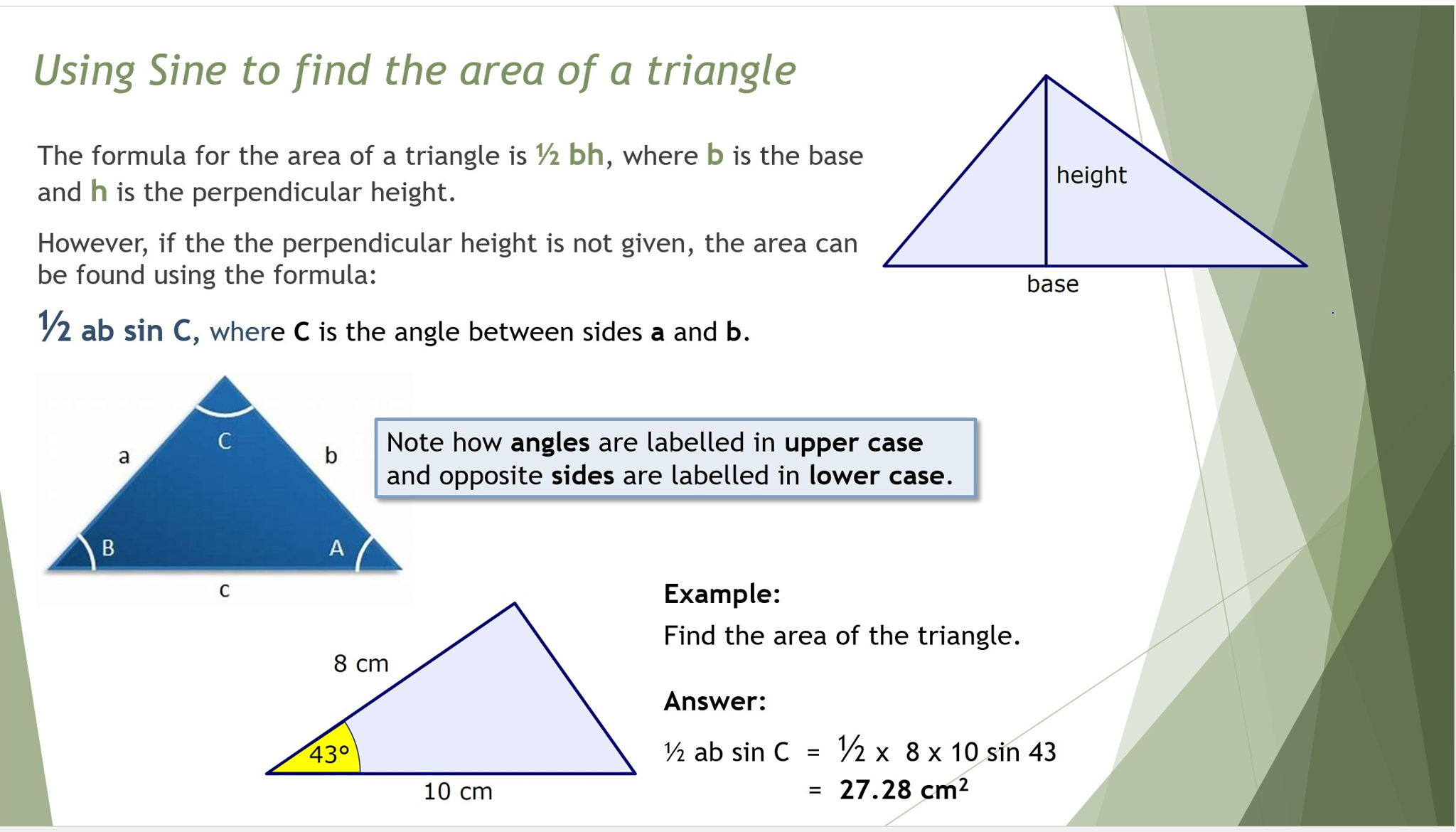 High School 3d Volume Surface Area Density Resources