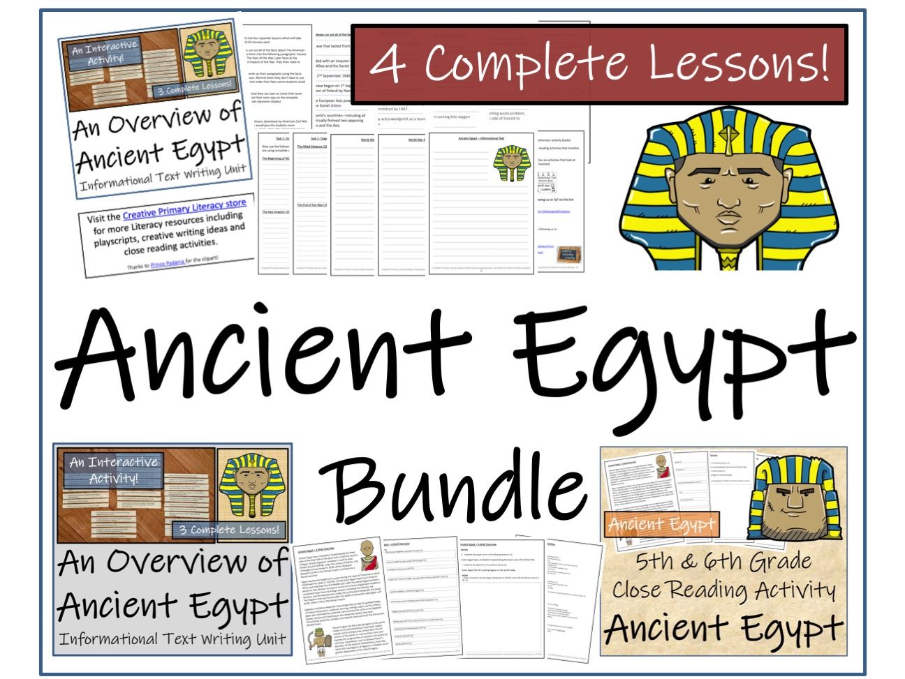 Bundle Of Ancient Egypt Activities By Irvine109