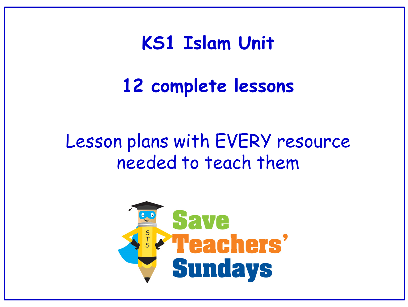 Islam Ks1 Planning And Resources