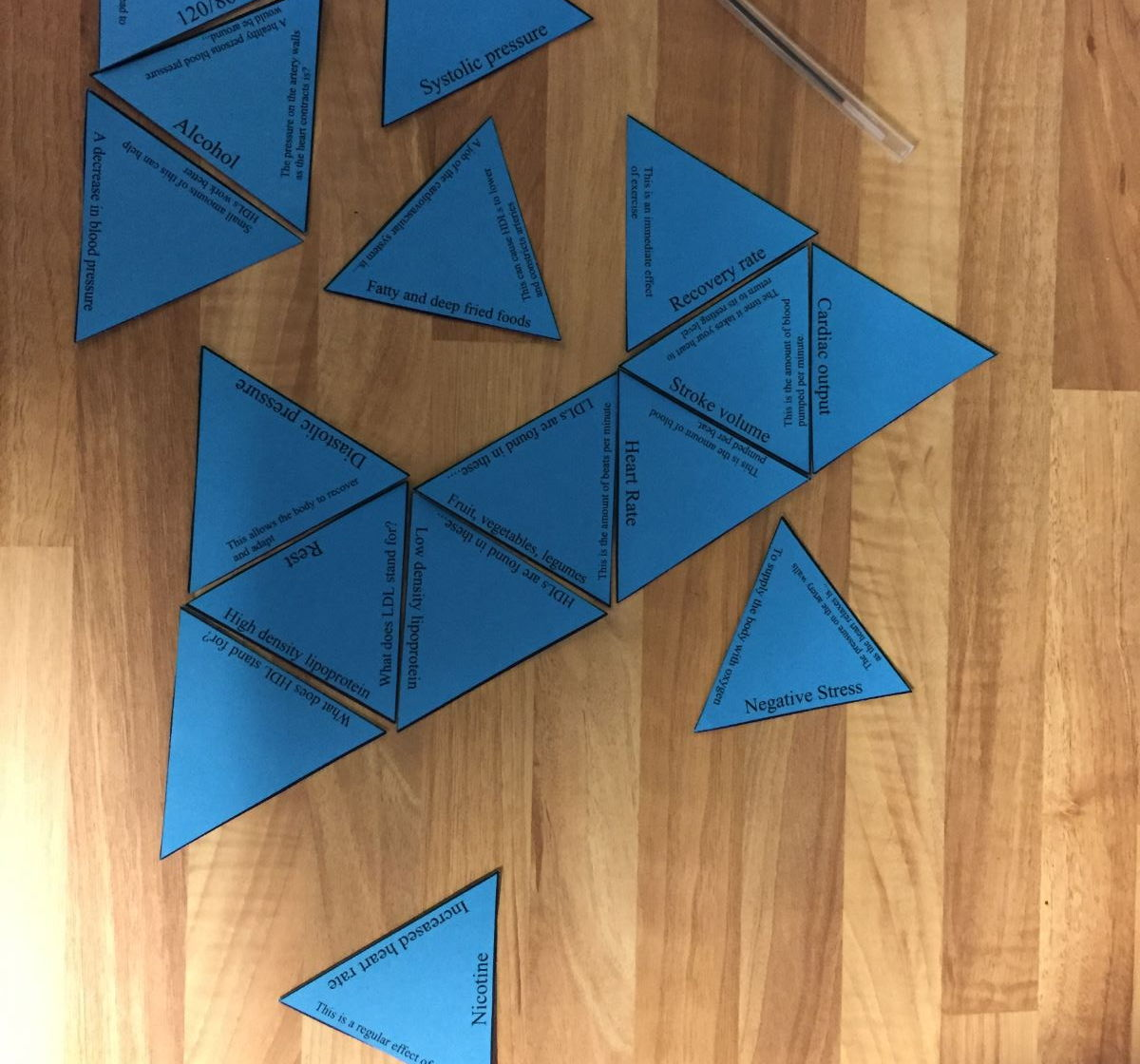 Gcse Pe Aqa 9 1 Full Paper 1 Tarsia Triangle Puzzle Set By