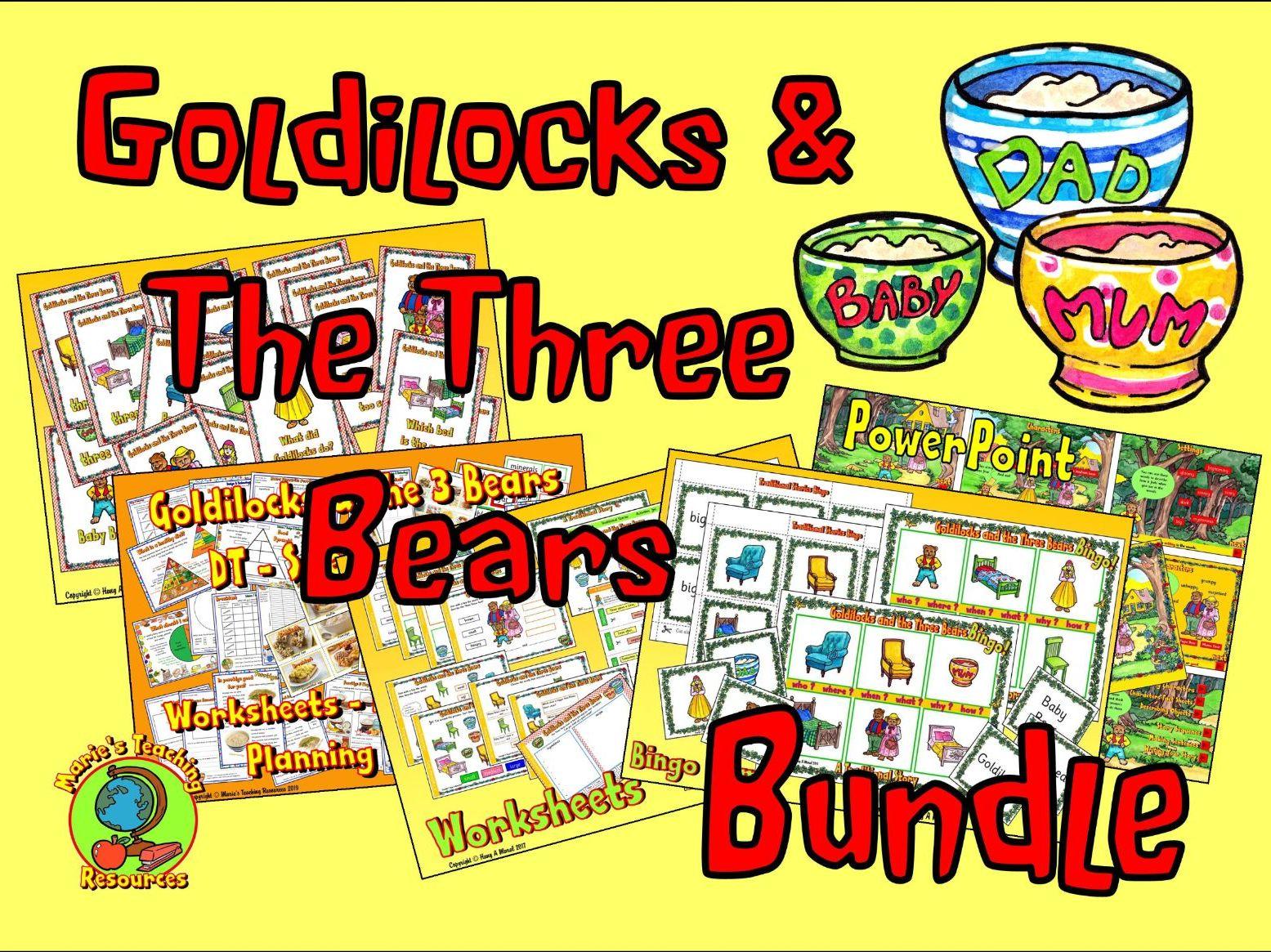 Goldilocks Amp The Three Bears Bundle
