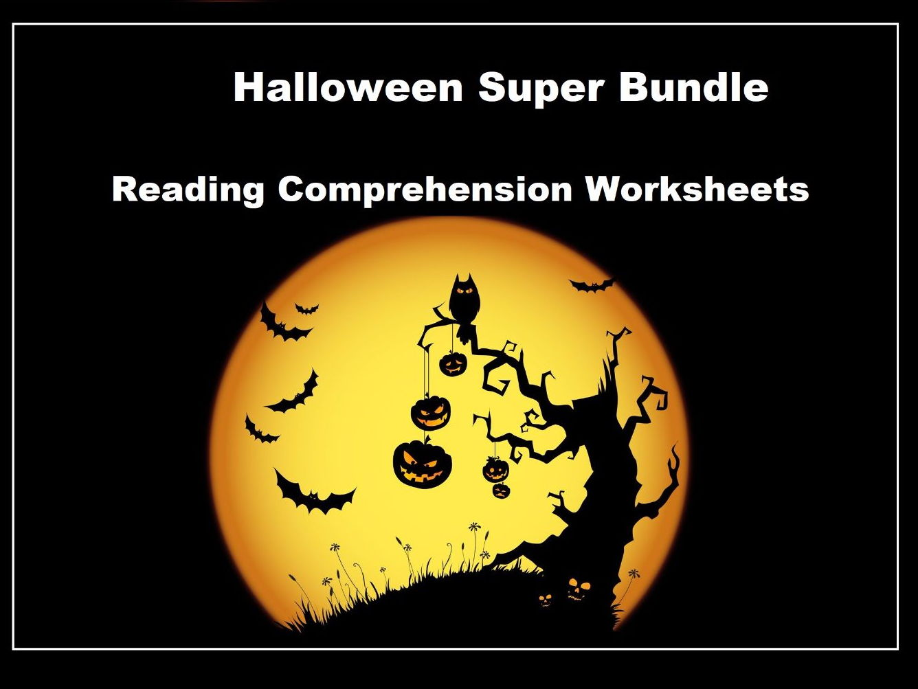 Halloween Reading Comprehension Worksheets