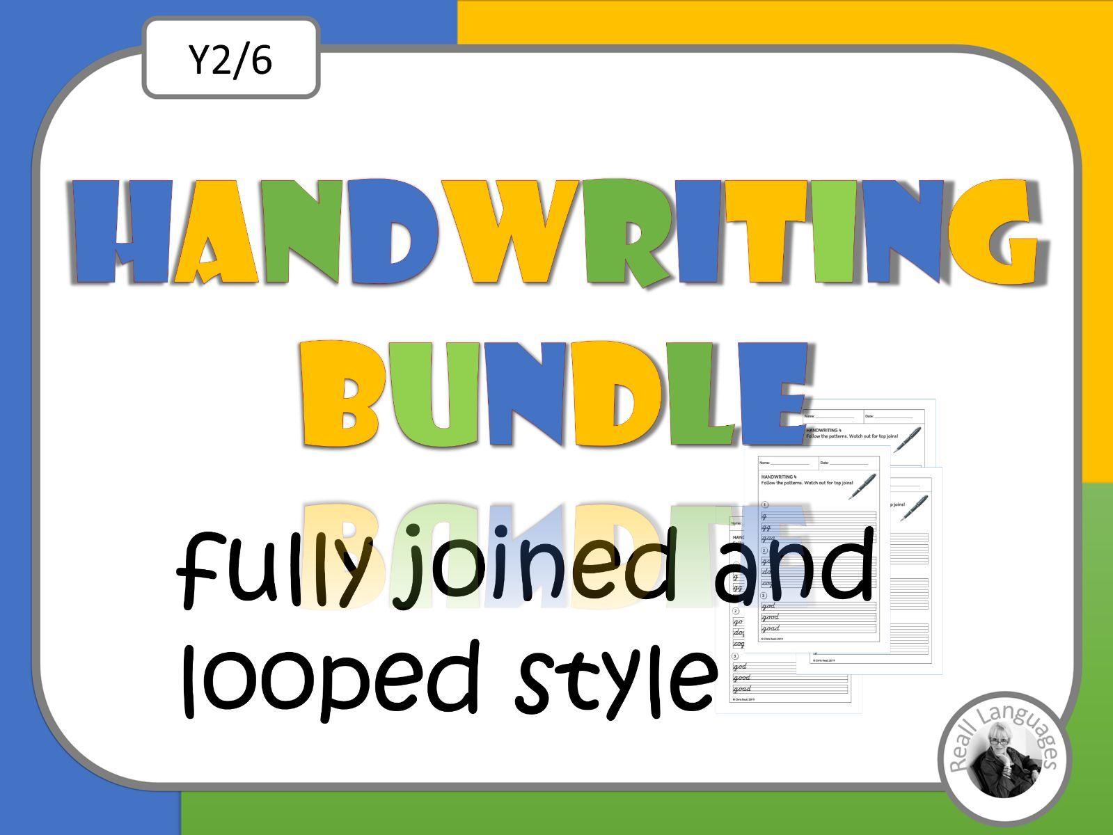 Cursive Handwriting 5 Sets Of Worksheets