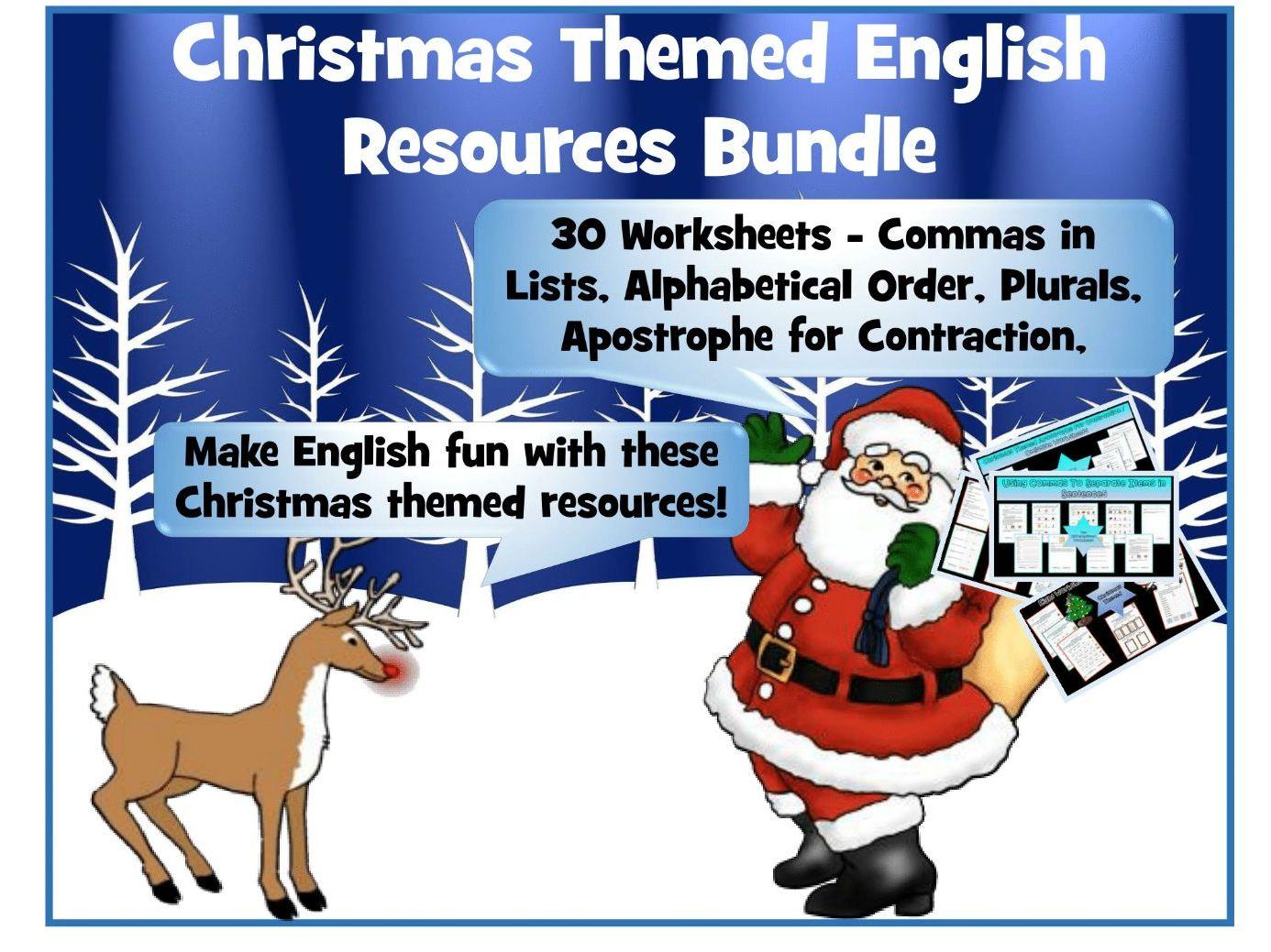 Christmas English Bundle