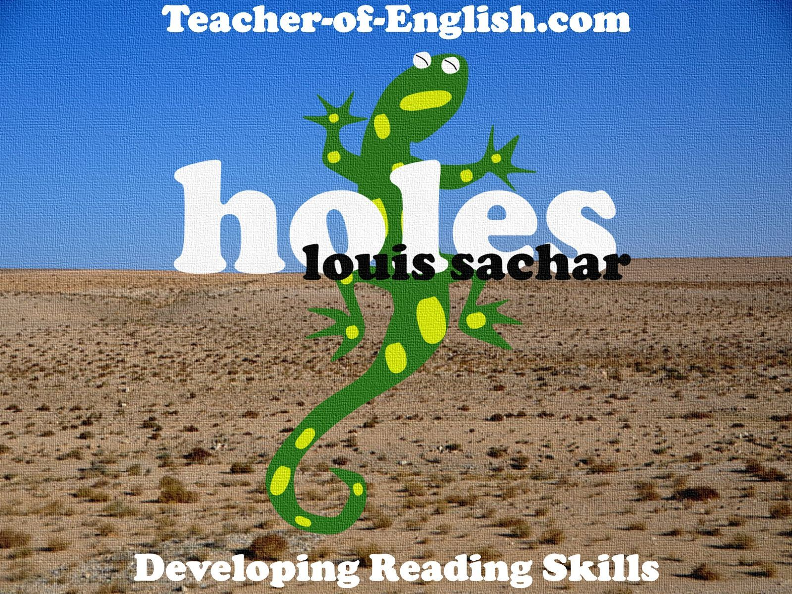 Holes Teaching Unit Powerpoint Worksheets And Lesson