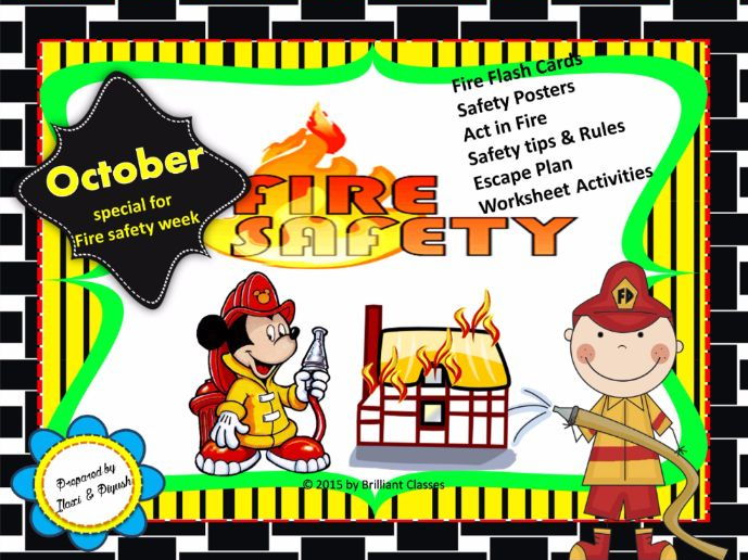 Halloween Game using Verbs and Adverbs by anniews8   Teaching     Fire safety Week booklet  Book Flash cards posters Activities Worksheets