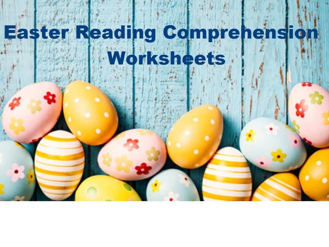 Easter Reading Comprehension Worksheets X 16 Save 70