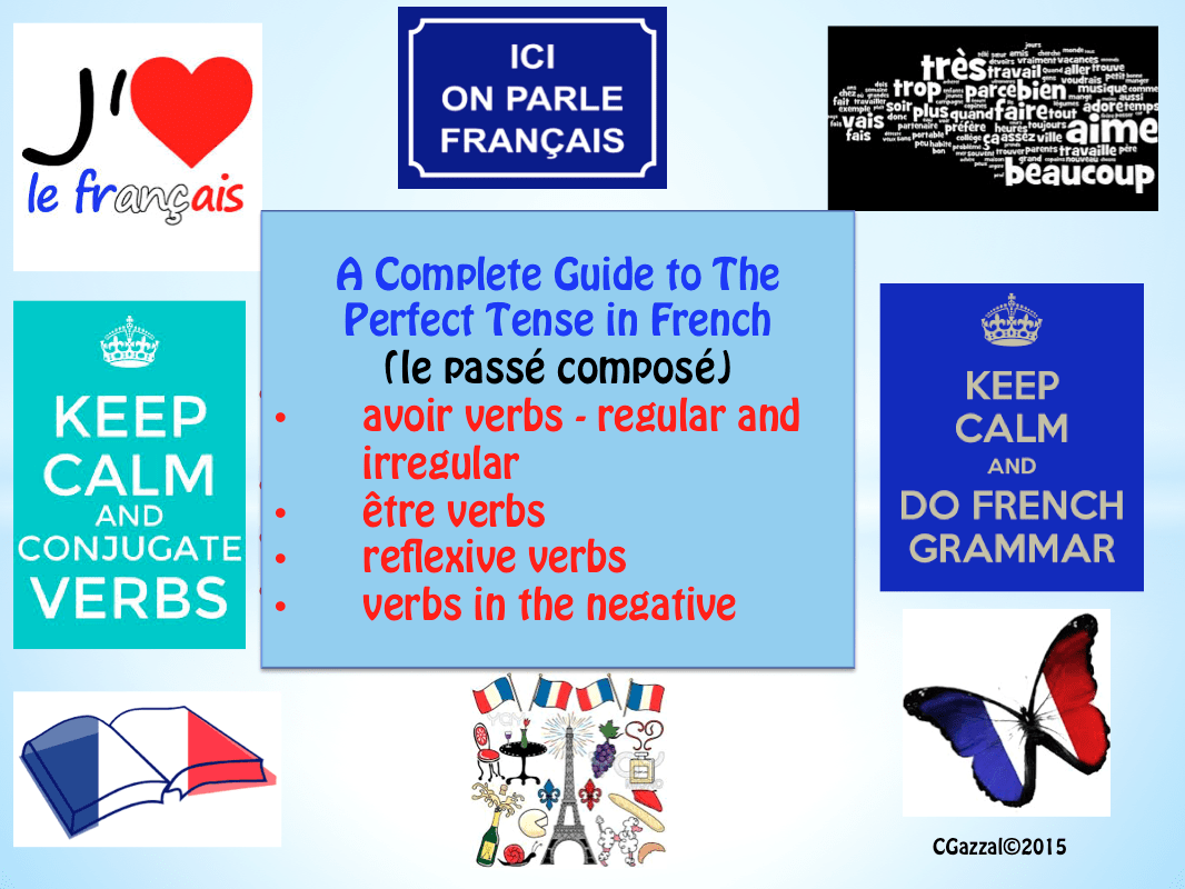 How To Write Reflexive Verbs In Past Tense French
