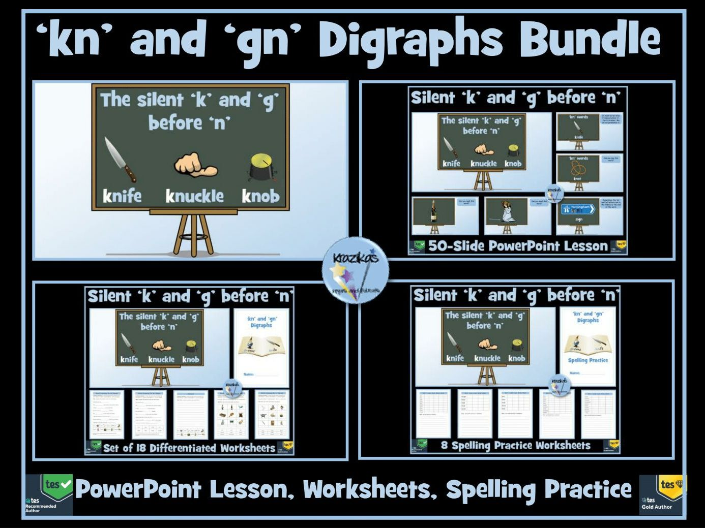 Kn And Gn Digraphs Bundle