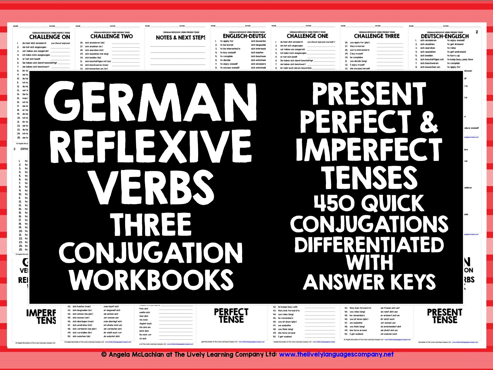 German Reflexive Verbs Conjugation Practice By