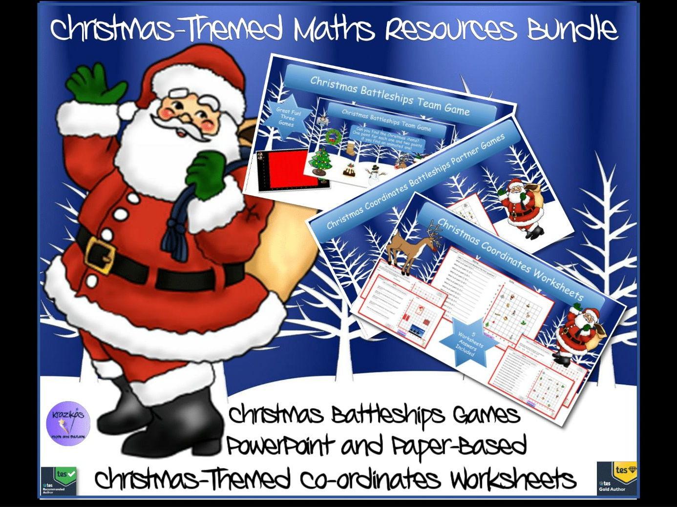 Christmas Coordinates Bundle By Krazikas
