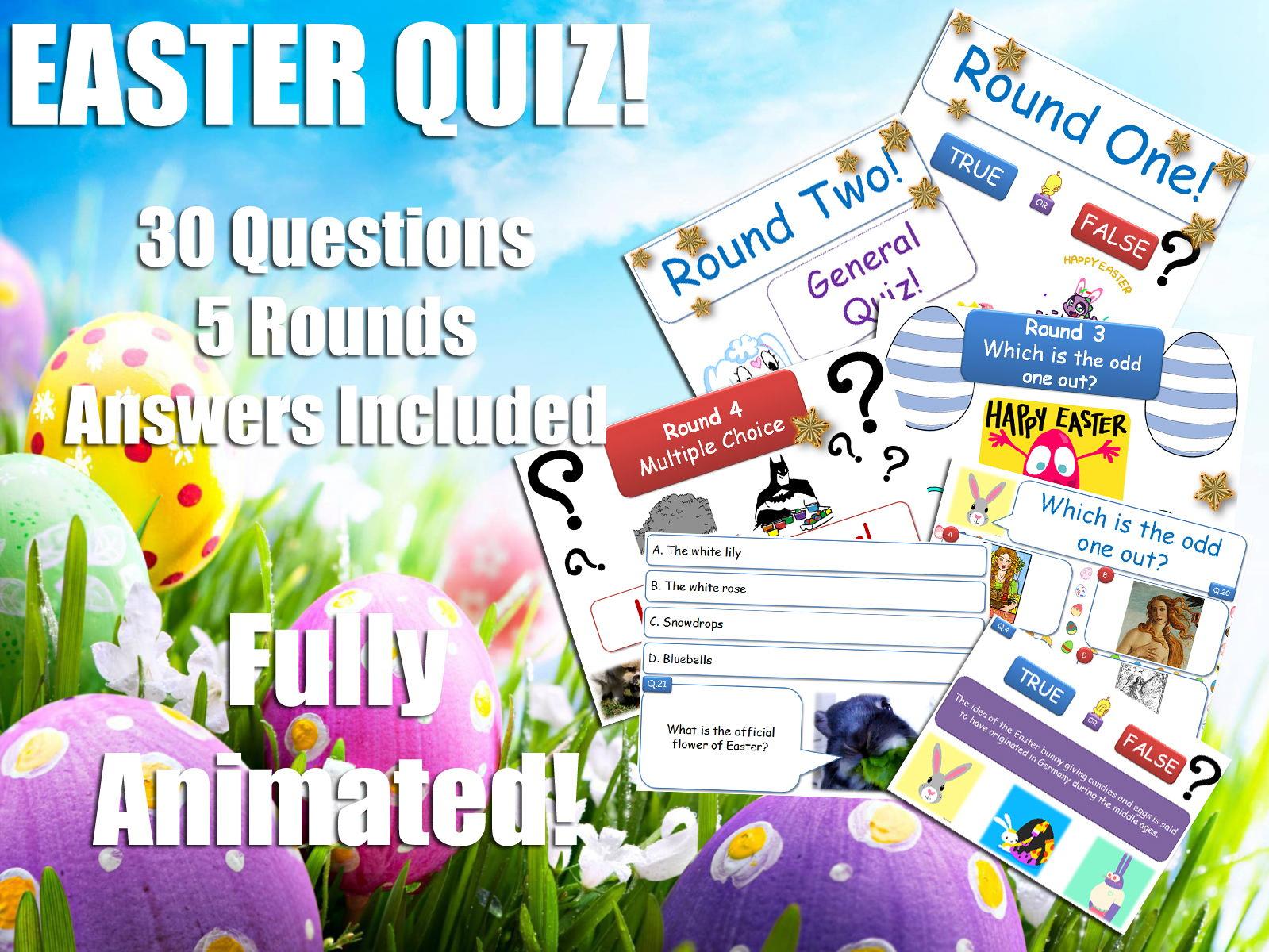 Religious Stu S Easter Quiz Bundle Re Rs Ks3 Philosophy Amp Ethics P4c By Godwin86