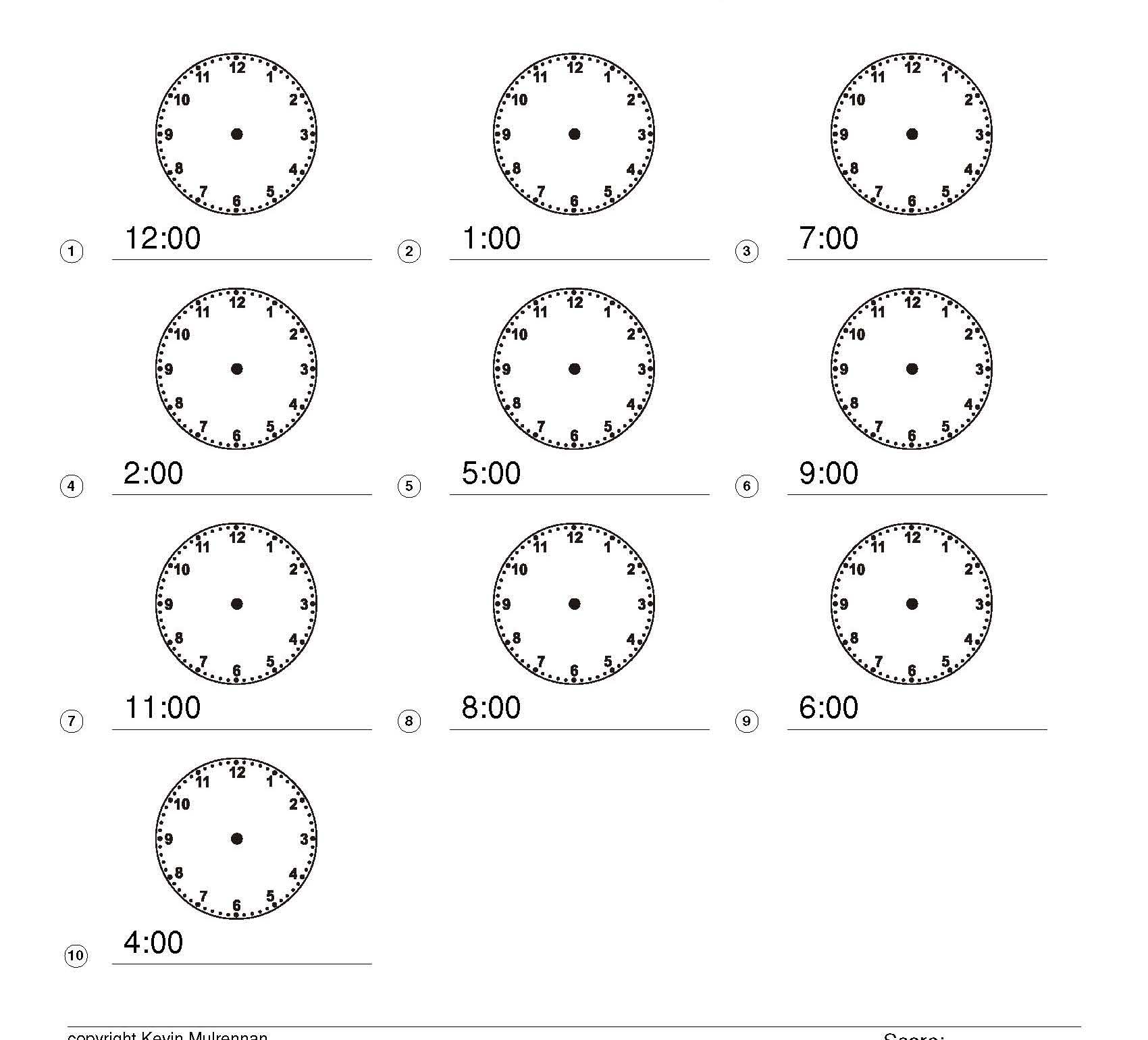 Telling The Time Games And Worksheets Ks1 Ks2 Maths