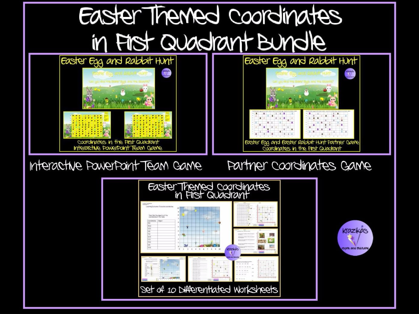 Secondary Algebra Teaching Resources Co Ordinates