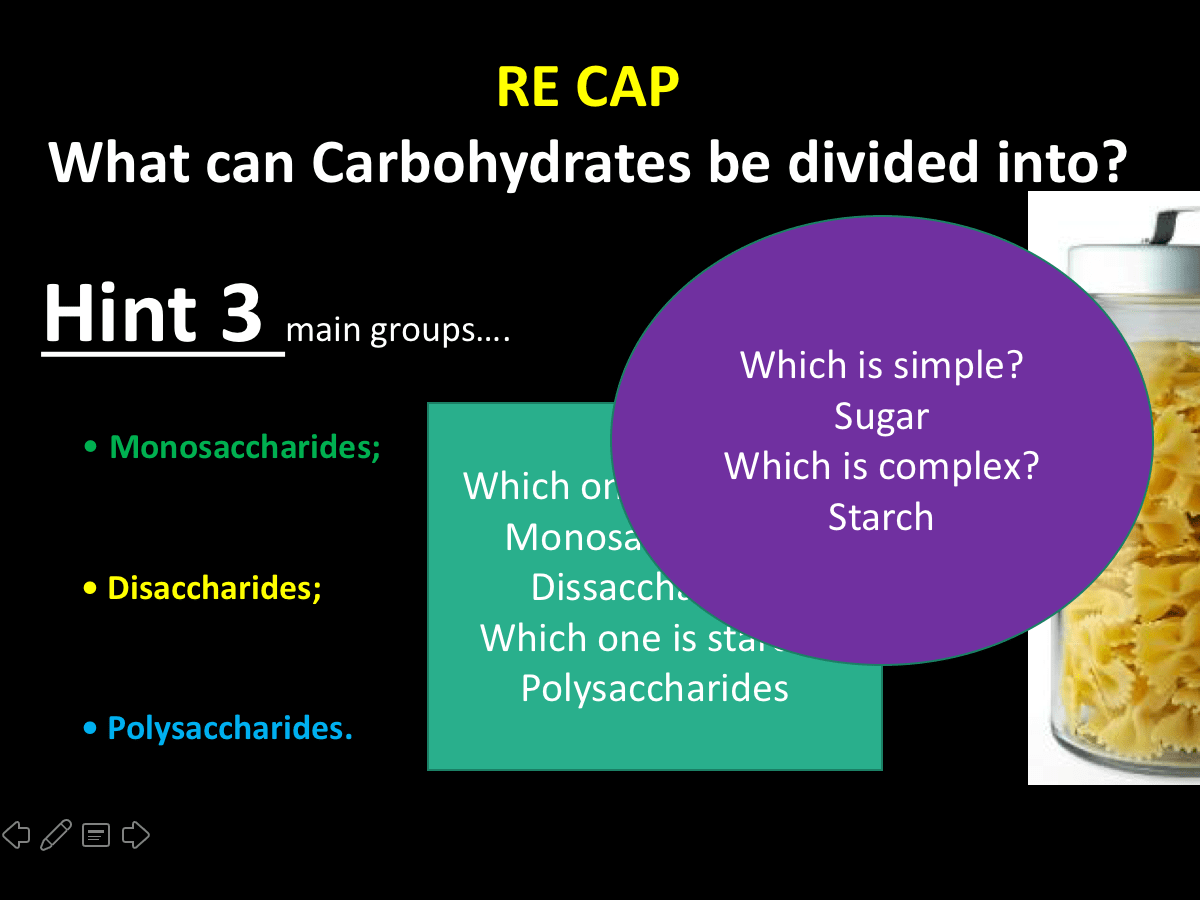 Unit 1 Bulk Load On Carbohydrates Level 3 Food Science