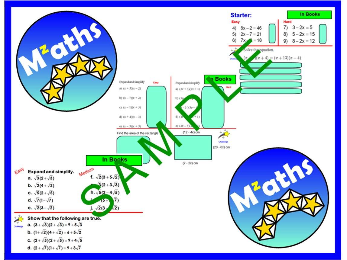 Angles Algebra Worksheet Tes