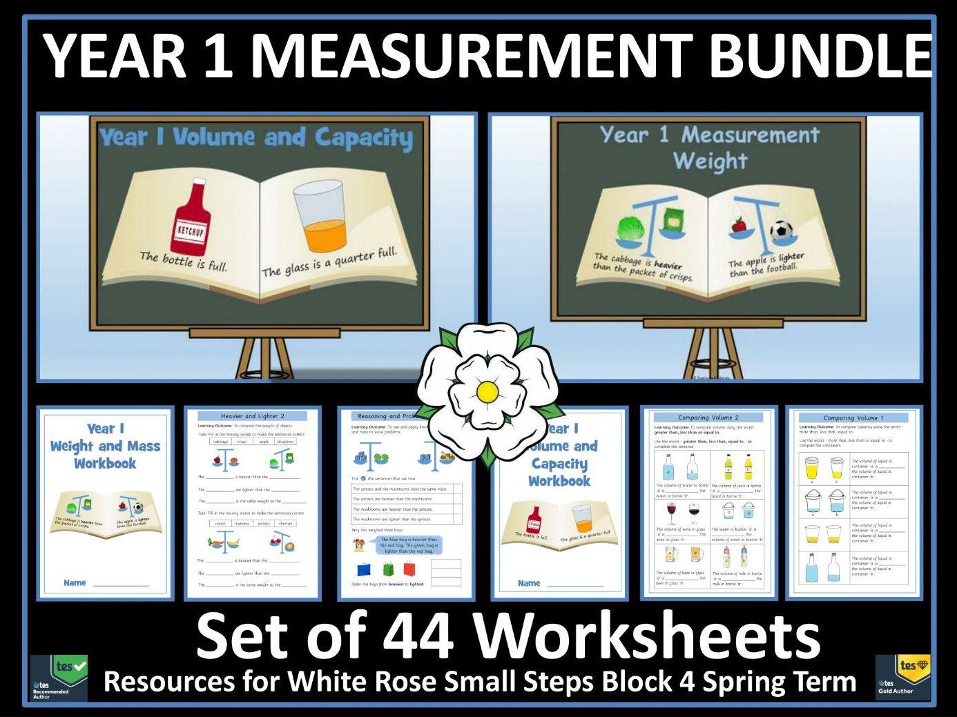 Capacity Worksheet Year 1 Tes