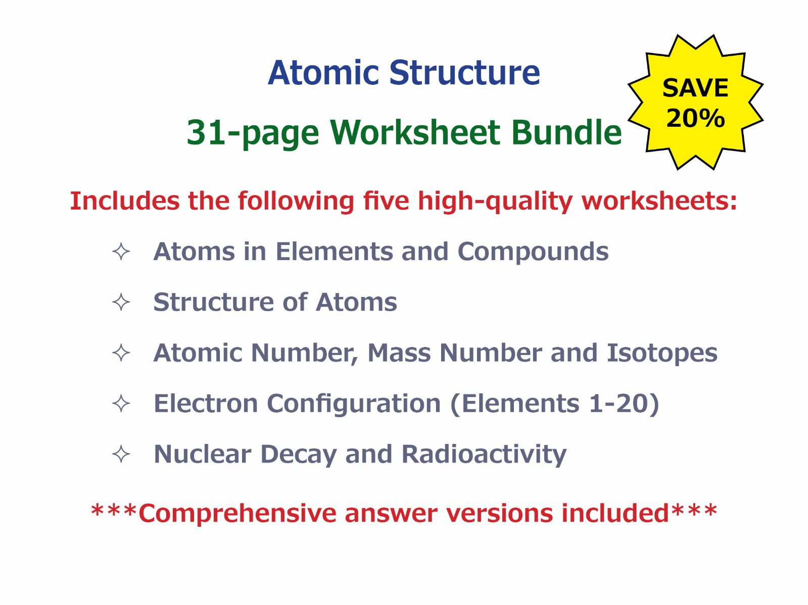 Worksheet Nuclear Reactions Worksheet Worksheet Fun
