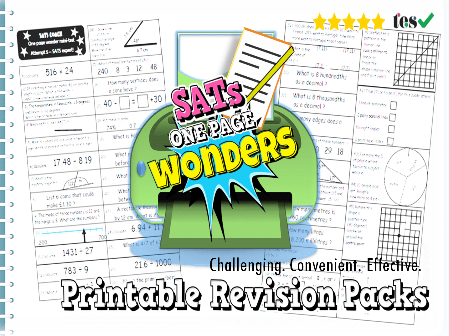 Sats Maths Revision Packs Ks2 By Ambowers2