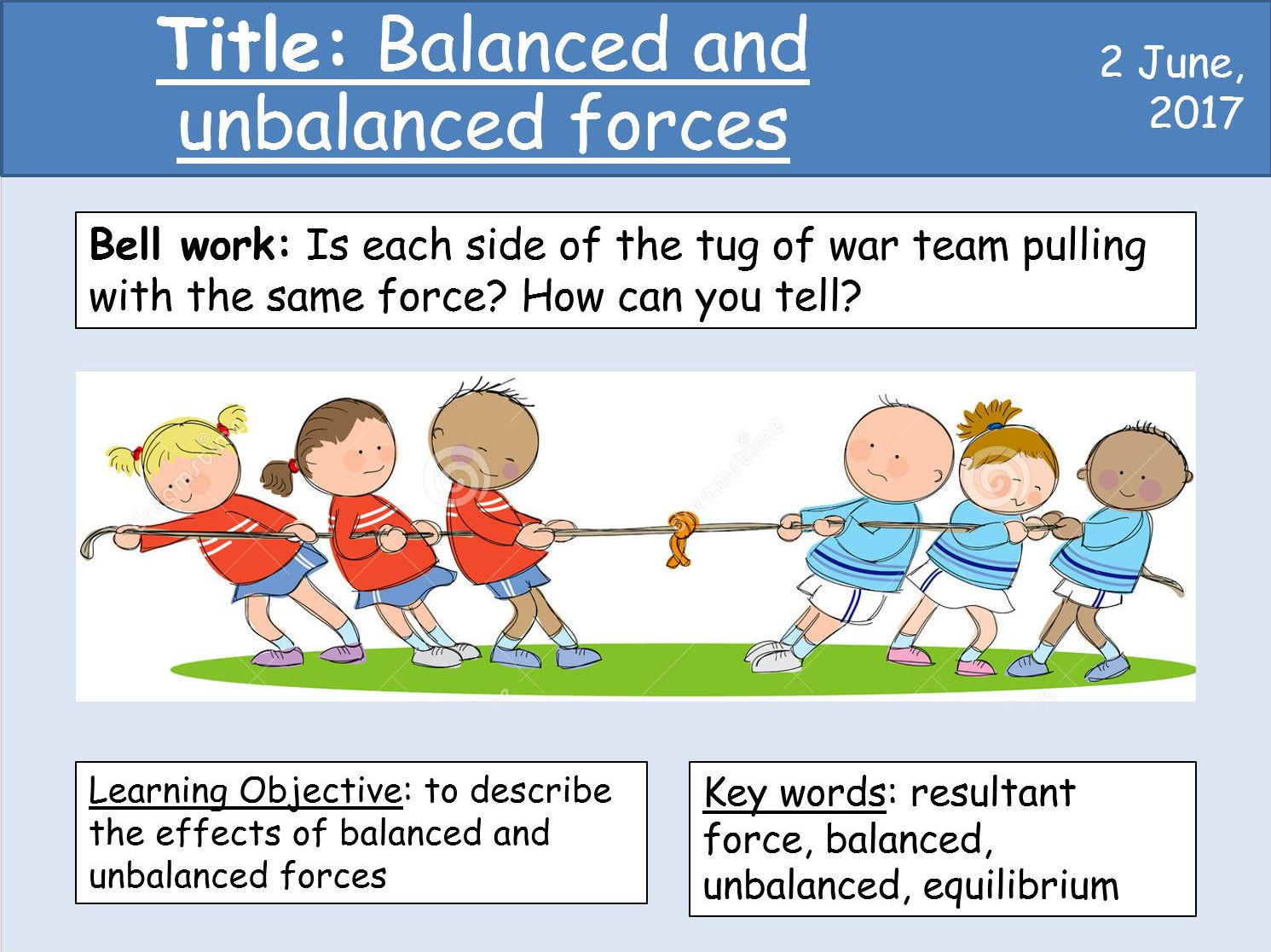 Worksheet Balanced And Unbalanced Forces Worksheet