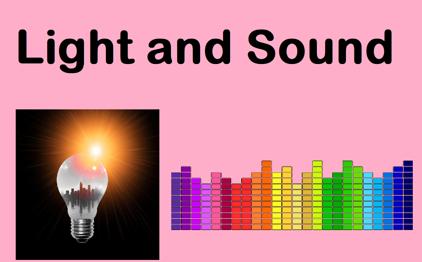 Sound And Light Bundle 13 Lessons By Sr276