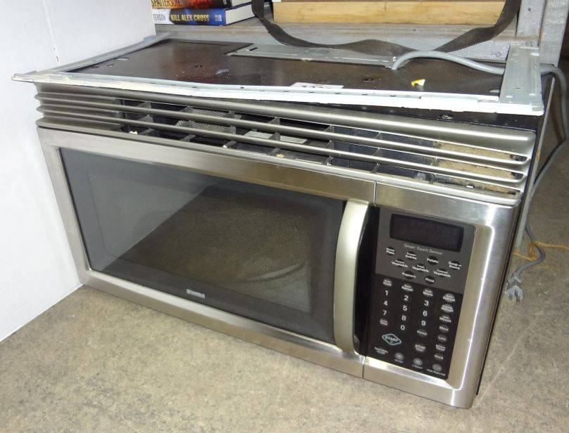 kenmore over range microwave model 721