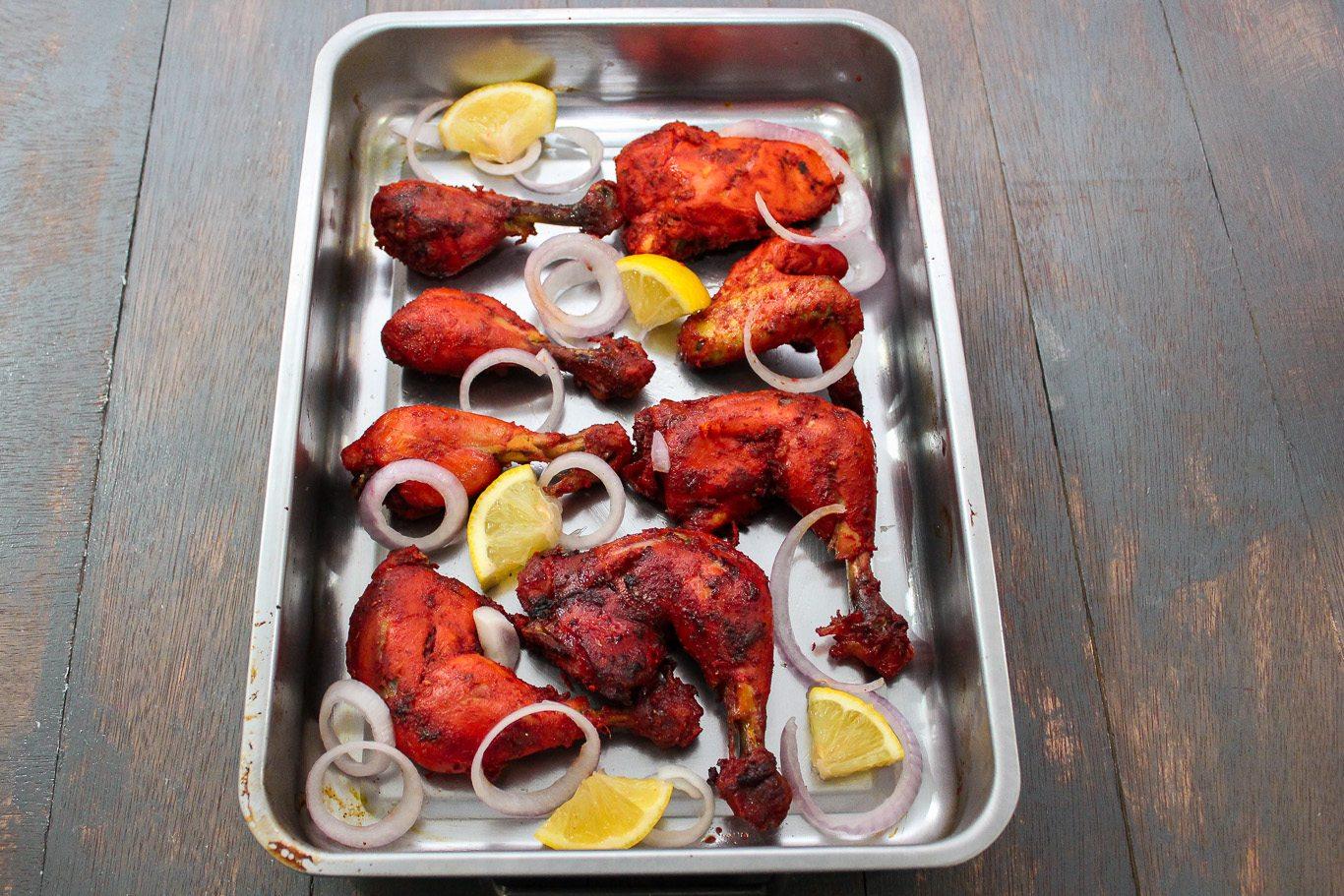 Tandoori chicken recipe | mayakitchenette.com