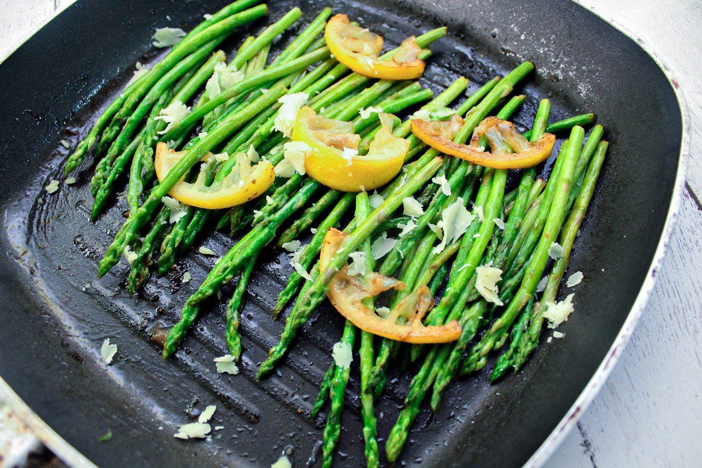 5 ingredients lemon asparagus