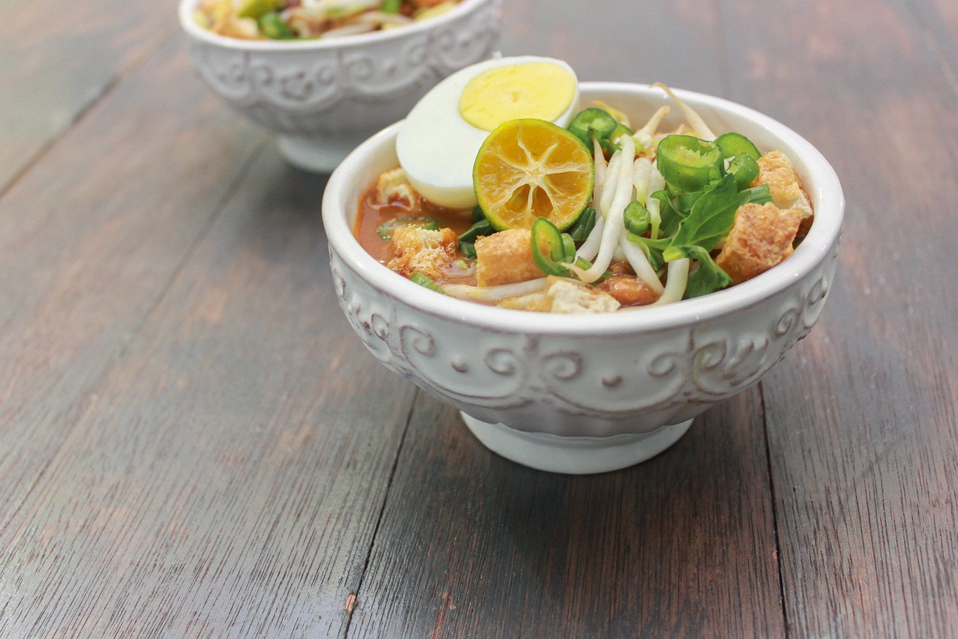 Mee Rebus – Noodles in Sweet Potato Gravy