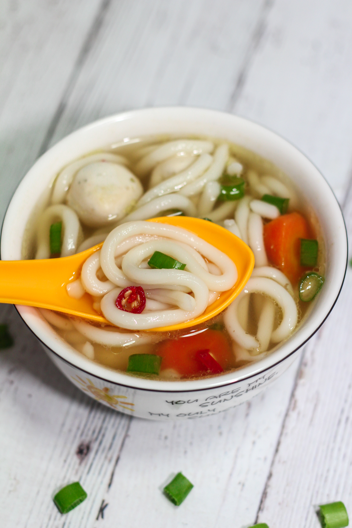 15 Minute Udon Noodle Soup Maya Kitchenette