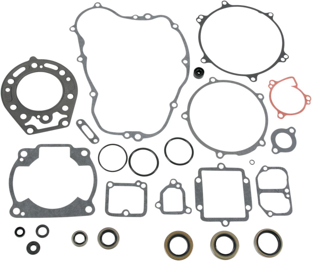 Moose Racing Complete Engine Gasket Kit W Oil Seals M