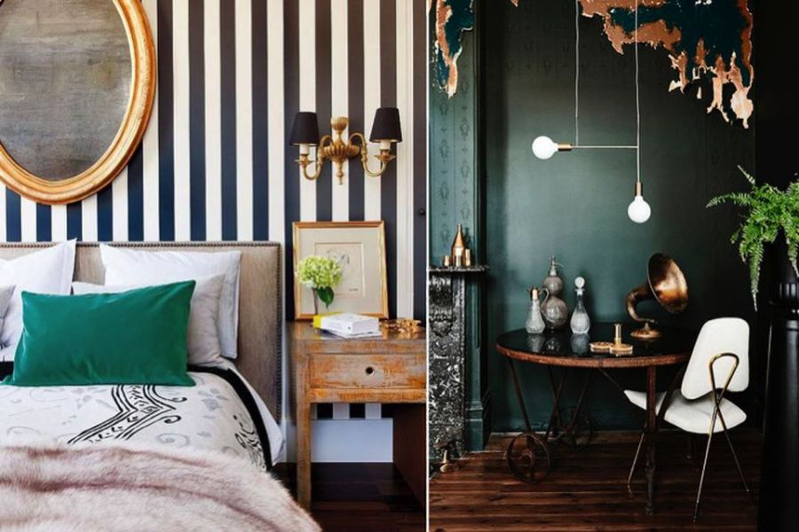 Dark Green  The Interior Trend You Need Right Now   How to Style It     emerald green  designer tips  colour tips  gold  emerald green and gold