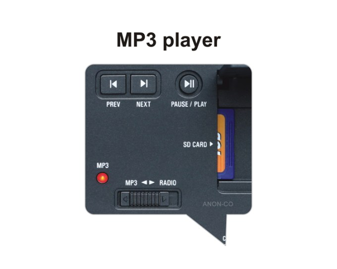 Tecsun Pl 398mp Pll Dsp Mp3 Radio With Dual Speakers