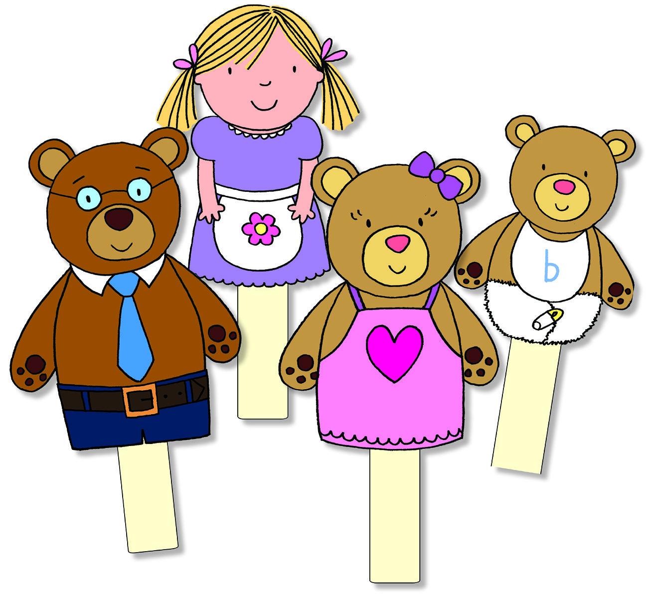Goldilocks Amp The Three Bears Storysticks