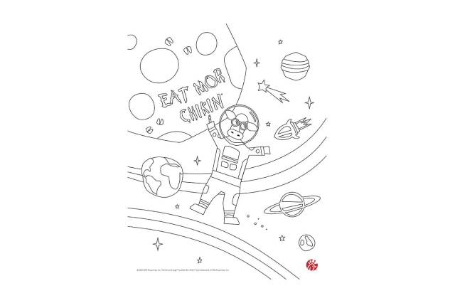 At-home activity for kids: Download and print coloring pages