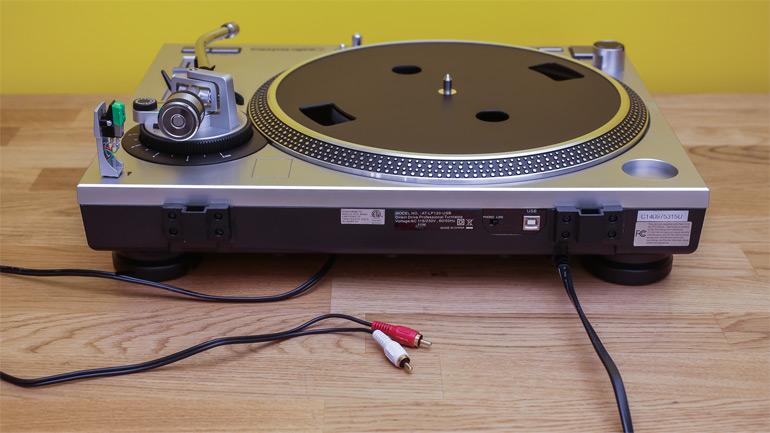 test audio technica lp120 usb notre