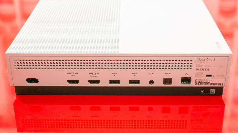 test microsoft xbox one s notre avis