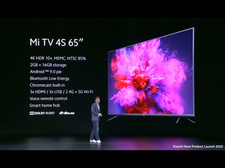 mi tv 4s 65 et mi true wireless