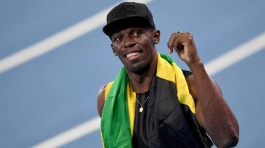 Usain Bolt injured in Jamaica during the final race of his career
