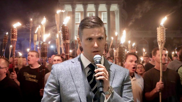 White supremacists march on University of Virginia news richard spencer