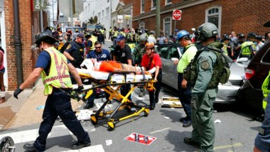 Vehicle plows into crowd of Charlottesville protesters, VA declares state of emergency