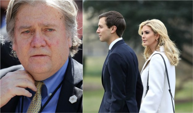 Email prank suggests Bannon wants to oust evil Ivanka, Jared Kushner news steve bannon ivanka kushner