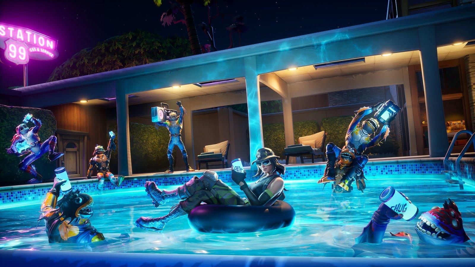 How To Swim In Fortnite Chapter 2 Allgamers