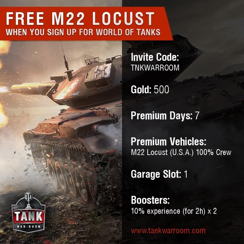 Tank War Room S World Of Tanks Invite Code