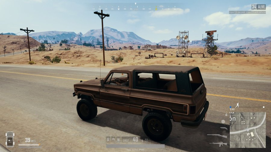 PUBG desert map Miramar guide   AllGamers The pickup truck in action