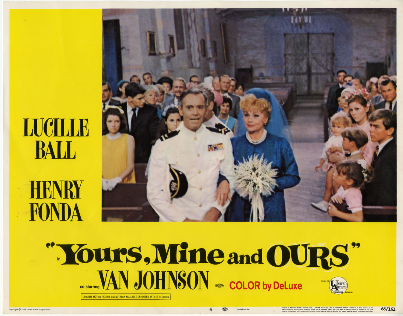 Image result for yours mine and ours 1968
