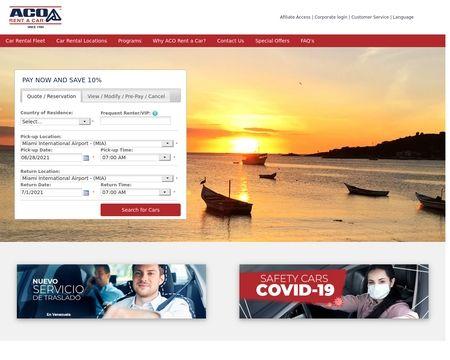 Aco Rent A Car Reviews 19 Reviews Of Acorentacar Com Sitejabber