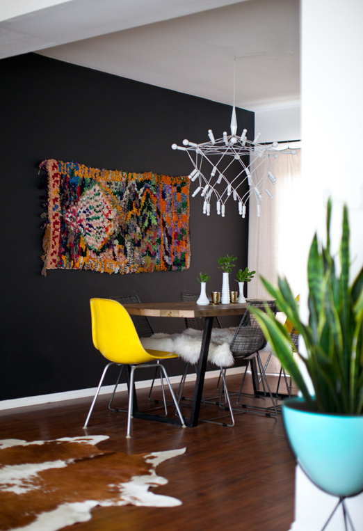How To Hang A Rug As Wall Art Chairish Blog