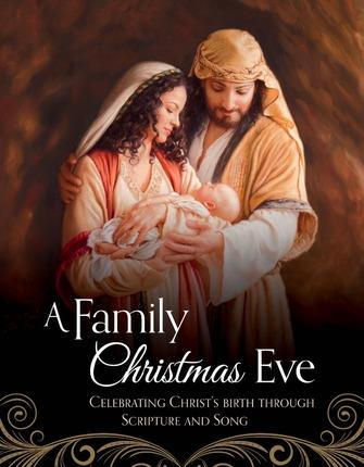 Family Christmas Eve Celebrating Christs Birth Through