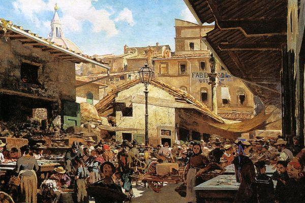 800px-Telemaco_Signorini,_Mercato_Vecchio_a_Firenze_1882-83_39x65,5_cm